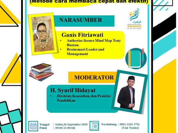 Workshop Zoominar  SPEED READING