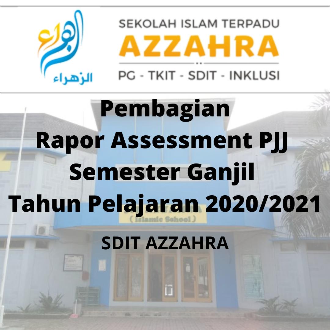 Pengambilan Rapot Online APJJ Tengah Semester Ganjil SDIT AZZAHRA